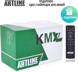 ARTLINE TvBox KMX3 4/32GB + Пульт AirMouse Voice Control G20s в подарок! от Rozetka