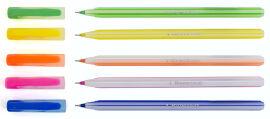 Ручка шариковая Candy синяя 1 Вересня 411587  желтая от Podushka