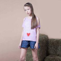Шорты для девочки Овен Чери 17Ш1-297 122 от Podushka