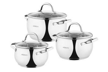 Набор посуды Ardesto Gemini, 6 предметов (AR1906GSS) от MOYO
