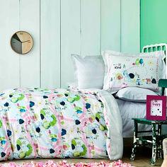 Подростковое постельное белье Karaca ранфорс Forest yesil Полуторный комплект от Podushka