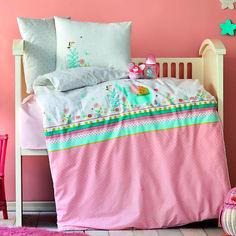 Постельное белье в кроватку Karaca Teeny pudra 2020-2 пудра Детский комплект от Podushka
