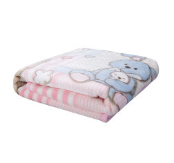 Плед детский Karaca Honey Bunny pembe 100х120 см от Podushka