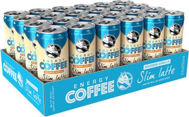 Упаковка энергетического напитка Hell Energy Coffee Slim Latte 0.25 л х 24 банки (5999860497080) от Rozetka