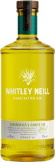 Джин Whitley Neill Lemongrass & Ginger 0.7 л 43% (5011166057109) от Rozetka