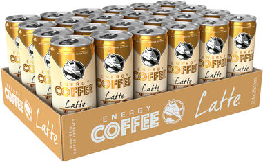 Упаковка энергетического напитка Hell Energy Coffee Latte 0.25 л х 24 банки (5999860497073) от Rozetka
