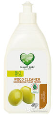Органическое средство для чистки поверхностей из дерева Planet Pure Олива и бергамот 510 мл (9120001469468) от Rozetka