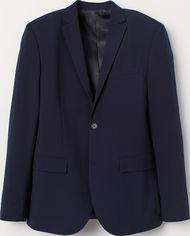 Пиджак H&M 7139869 48 Темно-синий (hm08505463493) от Rozetka
