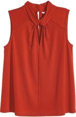 Блузка H&M 5231607 XS Красная (hm00204952248) от Rozetka