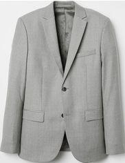 Пиджак H&M 5043478 54 Серый (hm04752204862) от Rozetka
