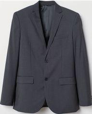Пиджак H&M 7139869 46 Темно-серый (hm05917811011) от Rozetka