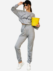 Спортивный костюм MasModa Сингл М20 005 M Серый (6400010177) от Rozetka