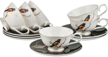 Чайный набор Lefard 264 Золотая Птица из 12 предметов (264-636) от Rozetka