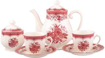 Чайный набор Claytan Ceramics 910 Виктория Пинк 240 мл из 14 предметов (910-068) от Rozetka