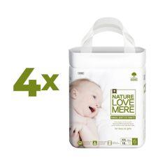 Набор подгузников-трусиков NatureLoveMere Magic Soft Fit XХL (13-17 кг), 72 шт. (4 уп. по 18 шт.) от Pampik