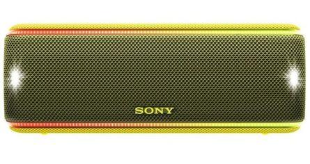 Портативная акустика Sony SRS-XB31 Yellow от MOYO