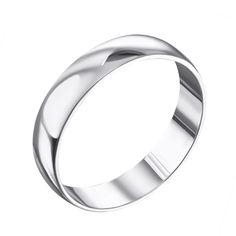 Обручальное серебряное кольцо 000133405 000133405 15.5 размера от Zlato