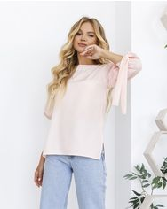 Блузы ISSA PLUS 12061  M розовый от Issaplus