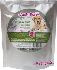 Влажный корм для собак Леопольд Готовый обед с мясом, птицей и овощами 500 г от Stylus