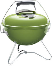 Угольный гриль Weber Smokey Joe Premium 37 см Зеленый (1127704) от Rozetka