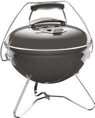 Угольный гриль Weber Smokey Joe Premium 37 см Дымчатий (1126704) от Rozetka