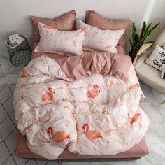 Комплект постельного белья MirSon Бязь 17-0068 Kler 143х210 (2200001469617) от Rozetka