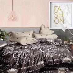 Акция на Комплект постельного белья MirSon Бязь Premium 17-0063 Adeli 220х240 (2200001471405) от Rozetka