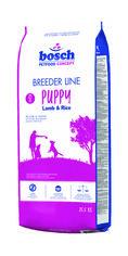 Сухой корм для щенков средних и крупных пород собак Bosch Breeder Line Puppy Lamb & Rice 20 кг (4015598014267) от Rozetka