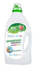Универсальный гель Green&Clean Professional для цветной и белой одежды 1.5 л (4823069704117) от Rozetka
