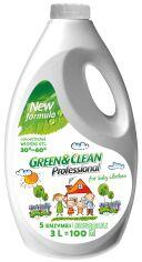 Гель для стирки детской одежды Green&Clean Professional 3 л (4823069703646) от Rozetka