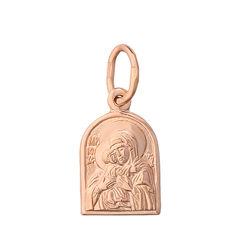 Золотая ладанка Дева Мария с Младенцем Умиление 000015133 от Zlato