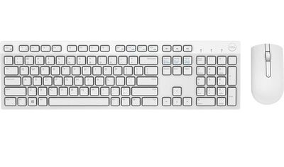 Комплект Dell Wireless Keyboard and Mouse-KM636 White US (580-ADGF) от MOYO