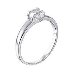 Серебряное кольцо с цирконием Swarovski 000119308 000119308 15.5 размера от Zlato