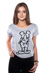 Футболка женская Good Loot Disney Angry Mickey (Микки) S (5908305224891) от Rozetka