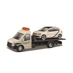 Игровой набор Bburago автоперевозчик с автомоделью VW  Polo GTI Mark 5 18-31403 от Podushka