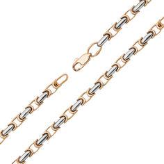 Золотой браслет в комбинированном цвете 000132084 000132084 19 размера от Zlato