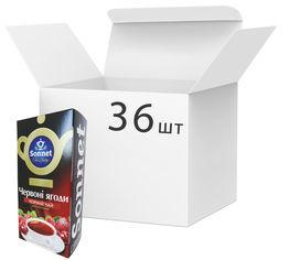 Упаковка чая черного Sonnet Красные ягоды 20 экспресс пакетиков х 36 шт (4820082705831) от Rozetka