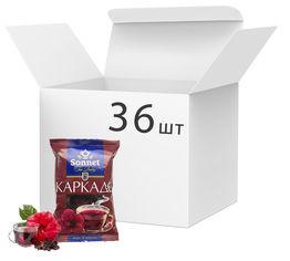 Упаковка чая Sonnet Каркаде 70 г х 36 шт (4820082706043) от Rozetka