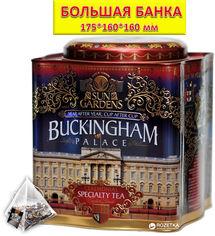 Чай черный+зелелный Sun Gardens Buckingham 100 пирамидок 200 г (4820082706807) от Rozetka