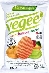 Акция на Упаковка чипсов картофельных McLloyd`s Vegee С овощами органические 85 г х 10 шт (8588004638143/8588004638266) от Rozetka
