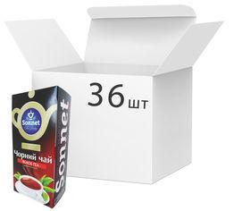 Акция на Упаковка чая черного Sonnet мелколистового 20 экспресс пакетиков х 36 шт (4820082705732) от Rozetka