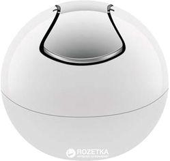 Ведро для мусора Spirella Plastic Bowl 14x16 см Белое (10.14964) от Rozetka
