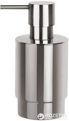 Дозатор для жидкого мыла Spirella Nyo Steel 6.5х14 см Нержавеющая сталь (10.15413) от Rozetka