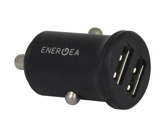 Универсальное автомобильное ЗУ Energea (Alu Drive 48S) mini 4.8A black от Citrus