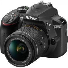 Фотоаппарат NIKON D3400 AF-P 18-55 VR Black (VBA490K001) от MOYO