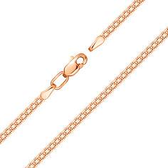 Золотой браслет Адальте в плетении двойной якорь 000104372 17.5 размера от Zlato