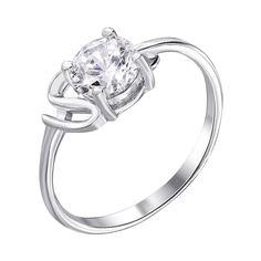 Серебряное кольцо с фианитом 000122457 000122457 16.5 размера от Zlato
