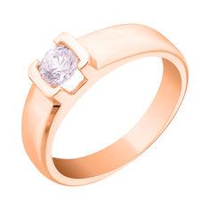 Золотое кольцо с кристаллом Swarovski Взаимность 000036723 17 размера от Zlato
