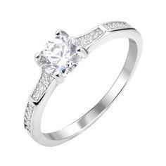 Серебряное кольцо с фианитами 000112671 000112671 16.5 размера от Zlato