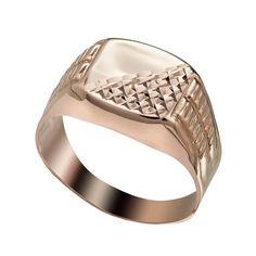 Перстень в красном золоте 000063896 000063896 20 размера от Zlato